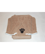 Microfiber Pet drying towel with 2 mitts - $15.99