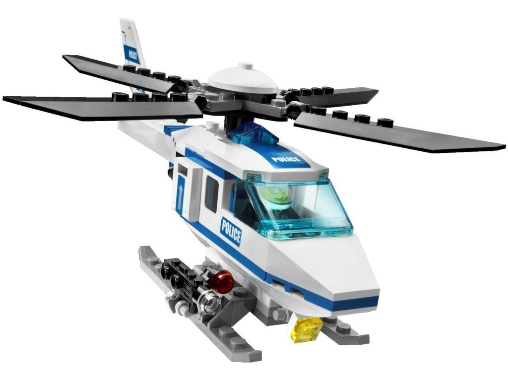 lego city 7741 police helicopter set lego complete