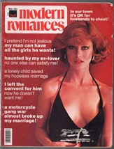 Modern Romances 6/1976-Dell-exploitation magazine-motorcycle gang-pin-up... - $31.53