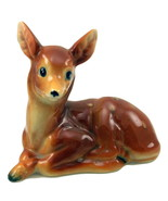 Vintage deer fawn figurine japan 5 thumbtall