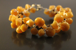 Handcrafted Brown Glass Beads Bracelet - $19.99