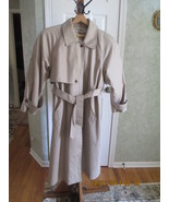 London Fog Trench Coat iwith zip out lining size 12 P - $39.99