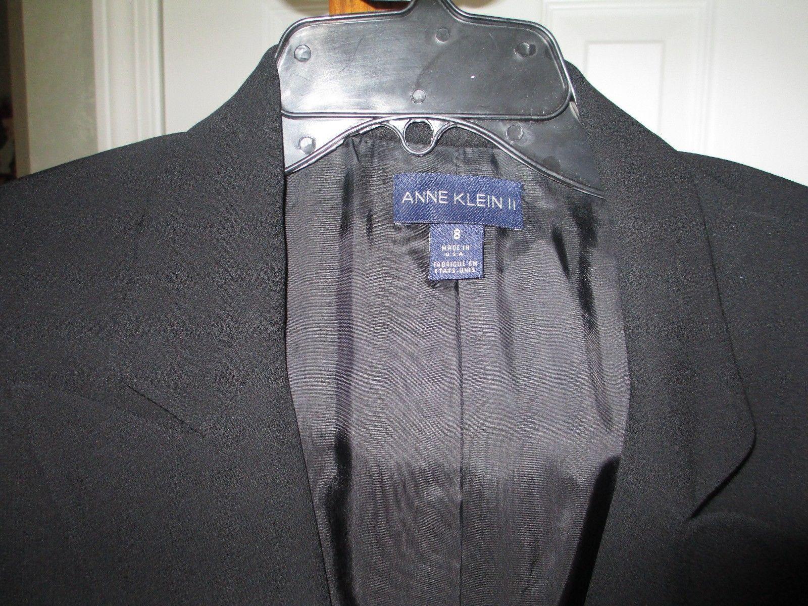 Anne Klein Black Classic Blazer