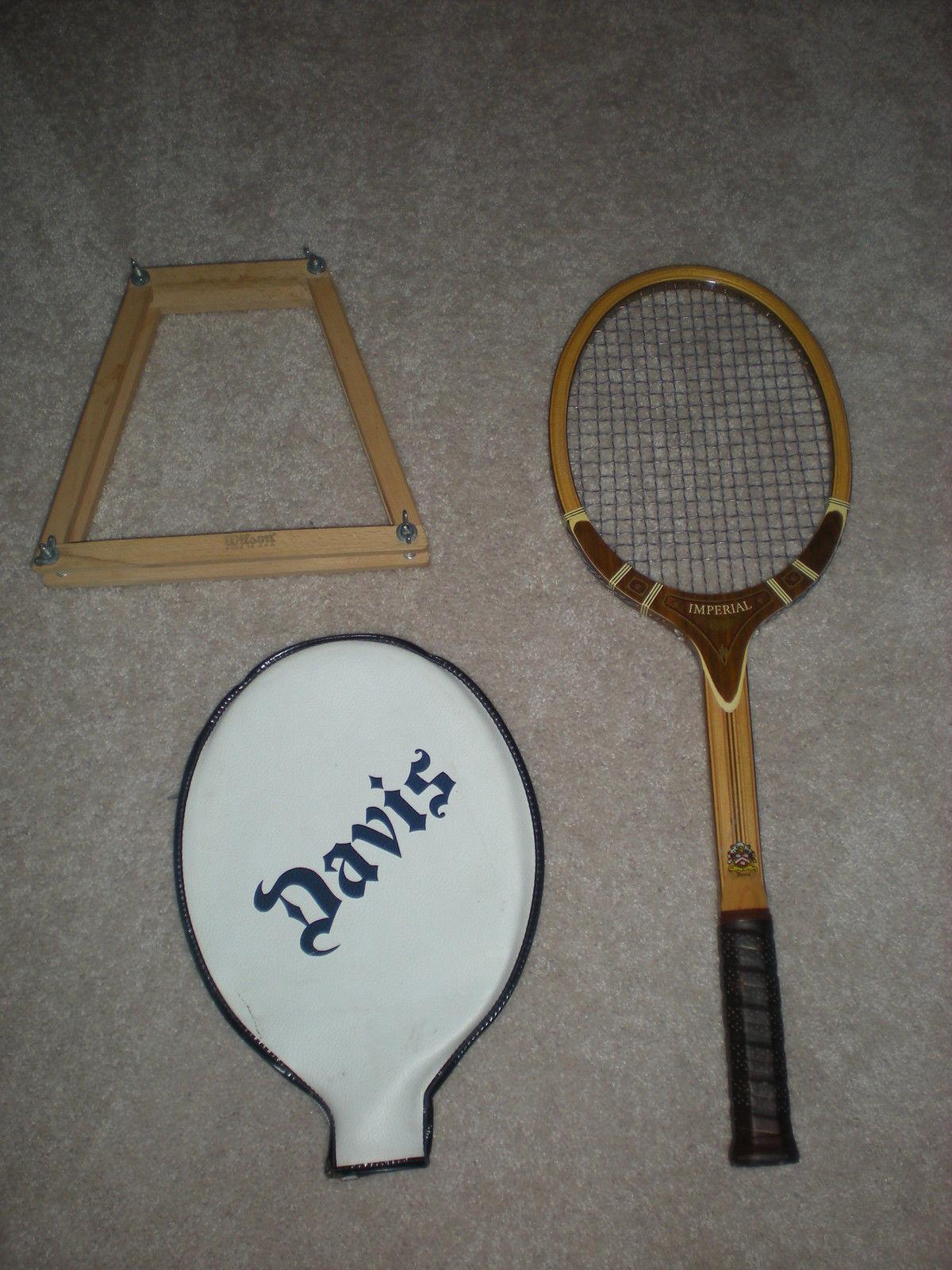 Vintage Tennis Raquet 78