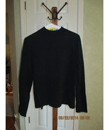 Pendleton Black  Mock Turtleneck - Petite L - $9.99