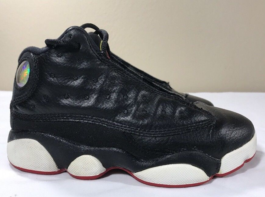buy online 426cc 4cdec S l1600. S l1600. Previous. Nike Air Jordan Retro XIII 13 Playoffs Boys PS  12.5c Bred Cherry Flint Black Cat