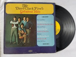 The Dave Clark Five's Greatest Hits Vinyl Record Vintage 1966 Epic Records - $21.19