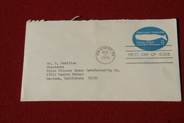 US 6 Cent Stamp - First Day of Issue; Herman Melville Moby Dick 1970 - $5.00