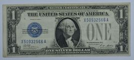 1928 A Series US silver certificate about uncirculated AU  Funny back - $40.00