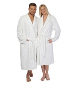 Turkish Cotton Robe Spa Bathrobe Terry Cloth Sh... - $88.49