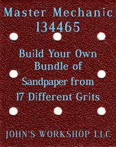 Build Your Own Bundle Master Mechanic 134465 1/4 Sheet No-Slip Sandpaper 17 Grit - $0.99