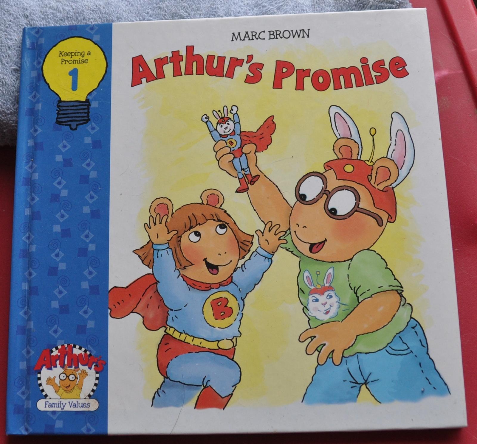 Arthur   arthurs promise   cover