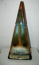 California Redwood Decanter by Jim Beam - $9.00
