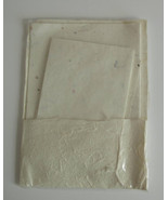 Handcrafted Mulberry Paper and Envelopes, 9 sheets and 6 envelopes - $9.79
