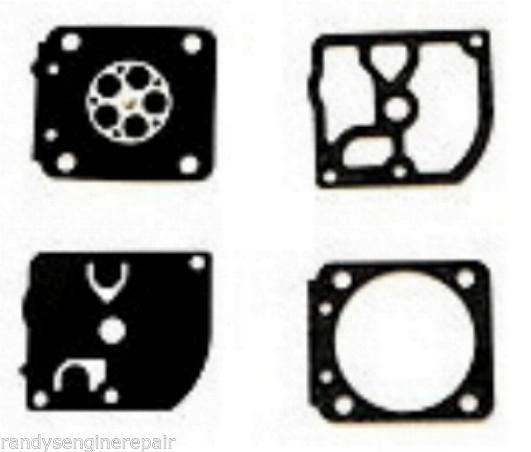 CARBURATEUR CARB DIAPHRAGME Set Kit Fits ZAMA GND-25