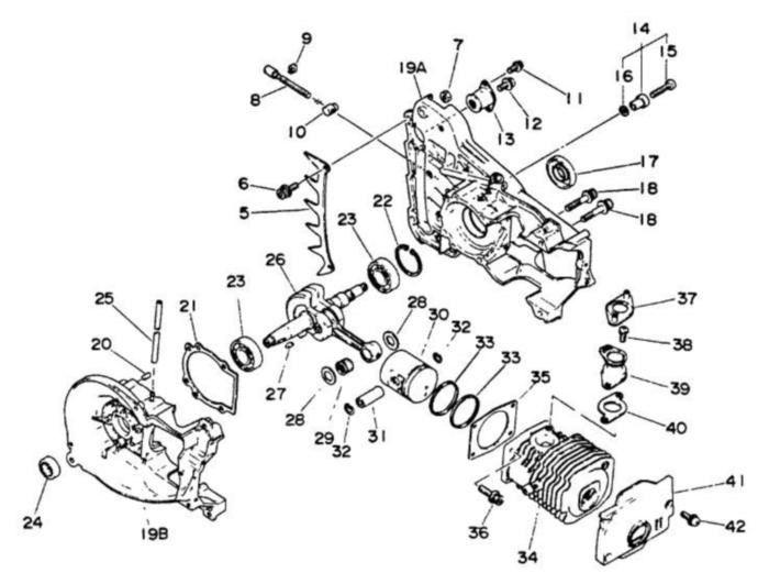 Echo 10021302830 Oil Crank Crankshaft Seal And Similar Items