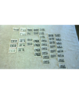 42x Various Roy Rogers Bubble Gum Trading Cards New Zealand Issue 1955 - $53.20