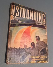 ASTOUNDING STORIES-NOV 1939-STREET & SMITH-L RON HUBBARD-fn/vf - $11.33