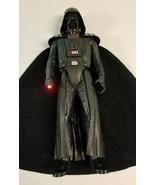"DARTH VADER Anakin Skywalker 13"" Action Figure 2012 Hasbro Sounds Red Li... - $17.99"