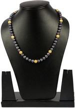 Blue Pearl Strand 16 Inches Long, Natural And Genuine Gemstone Fashion J... - $52.97