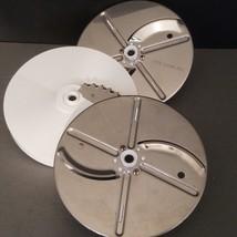 Vintage Oster Regency Kitchen Center -Food Processor 3 Replacement Discs - $29.65