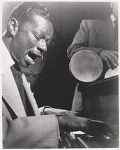Nat King Cole 1949 Piano Vintage 8X10 BW Jazz Music Memorabilia Photo - $6.99