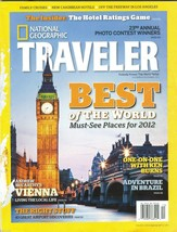 National Geographic TRAVELER Nov-Dec 2011 Best of the World Must See Places - $9.99