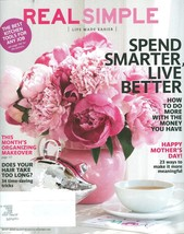 Real Simple Magazine May 2013 Organizing Tips;Hair;Finances;Kitchen Tools;Mother - $4.99