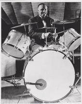 Lionel Hampton Drums Vintage 8X10 BW Jazz Music Memorabilia Photo - $6.99