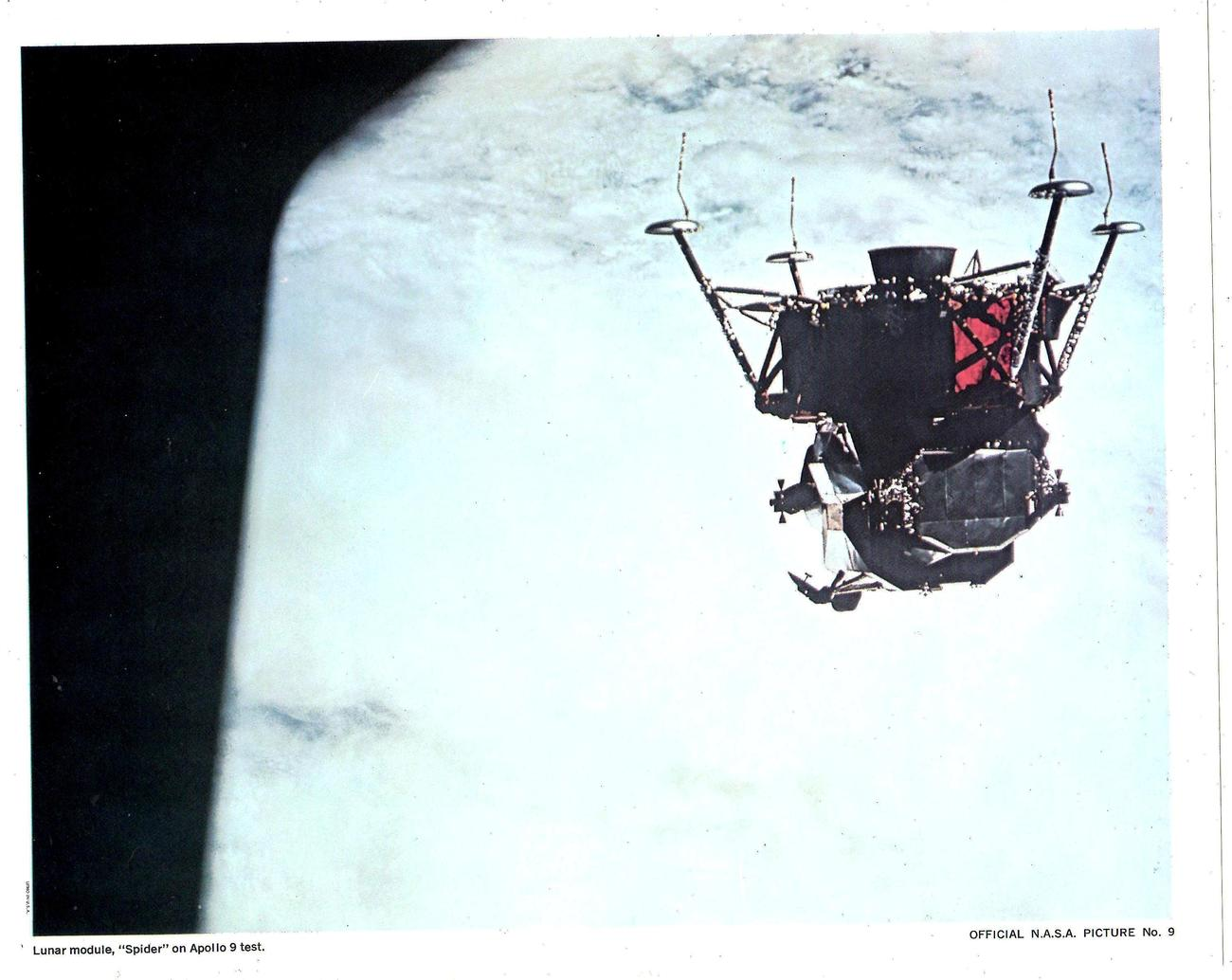 "Primary image for N.A.S.A. Picture # 9 Lunar Module ""Spider"" on Apollo 9 Test   - Official"