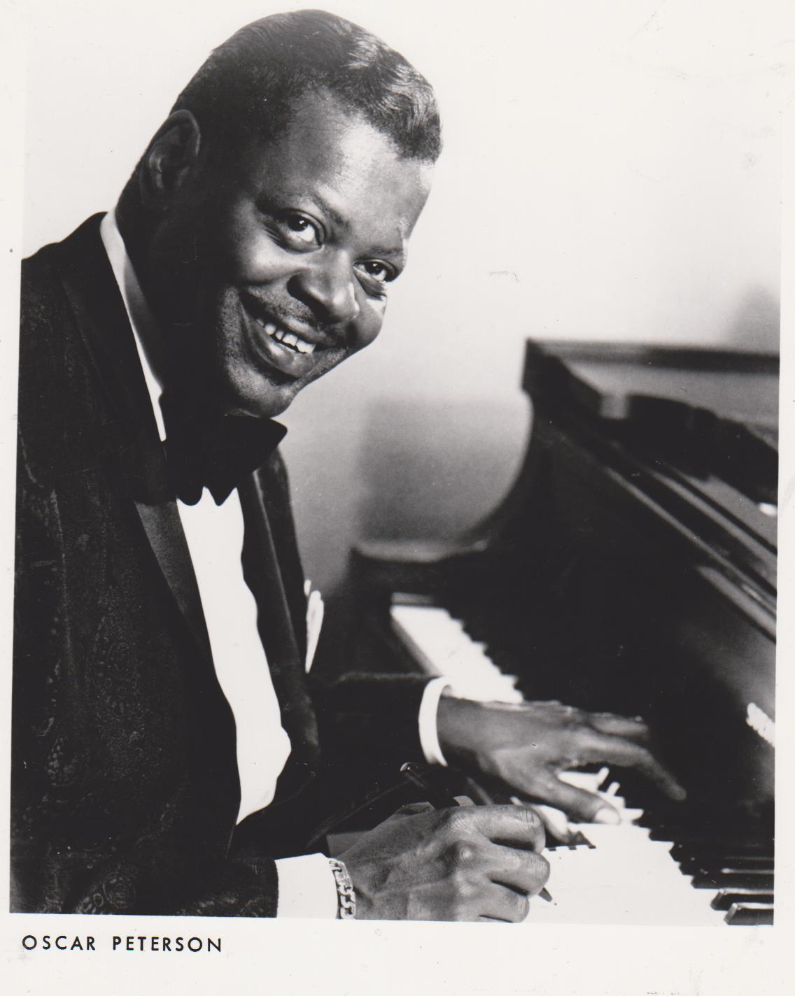 Oscar Peterson Vintage 8X10 BW Jazz Music Memorabilia Photo - $6.99