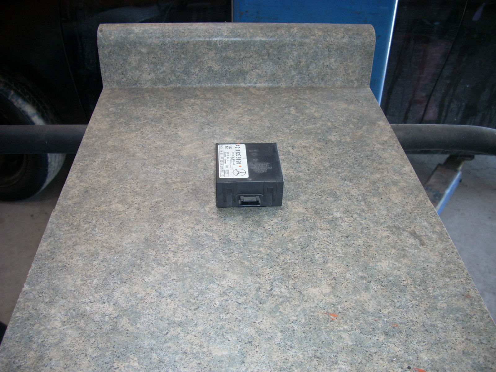 1601   anti theft alarm control module 1601 id  a2118209126