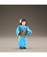 Dollhouse Dressed Asian Girl DHS1647 Caco Dollhouse Flexible Japan Kimon... - $35.50
