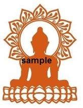 BUDDHU CROSS STITCH CHART - $10.00