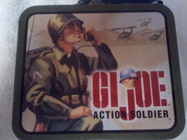 GI JOE 1998 ACTION SOLDIER SMALL MINI LUNCHBOX ... - $7.57