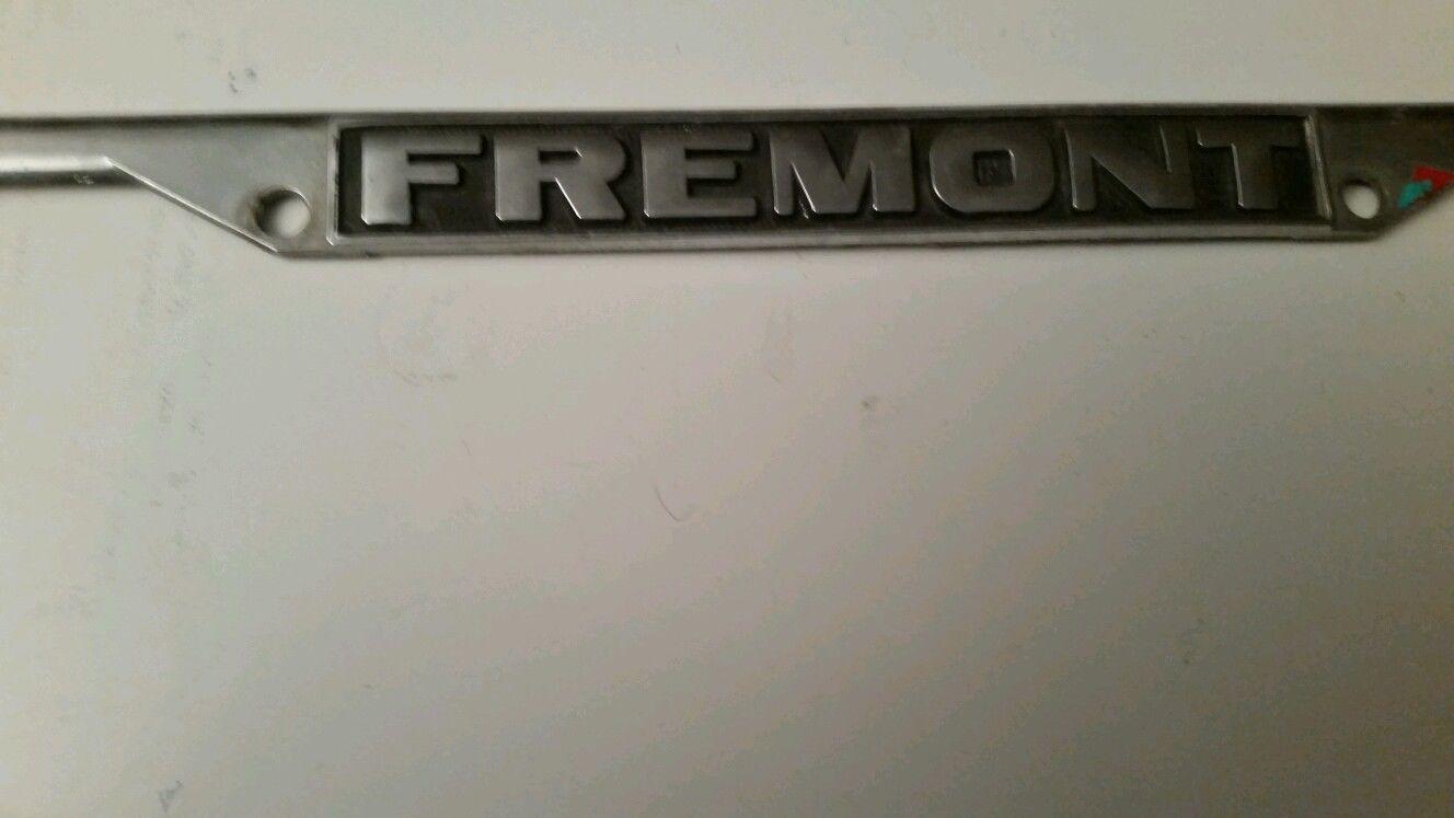 Fremont Claridge's Mercedes Benz Vintage Dealer License ...