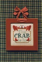 The Crab Is In Moon-Lite cross stitch chart Waxing Moon Designs - $6.00