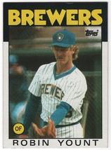 1986 Topps Robin Yount #780 Milwaukee Brewers (EX) Baseball Card - $1.19