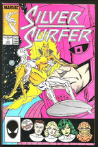SILVER SURFER #1 FINE+  Double-sized Marshall Rogers 1987 Marvel Comics - $25.00
