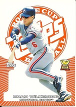 2005 Topps Rookie Cup Brad Wilkerson 131 Expos - $1.25