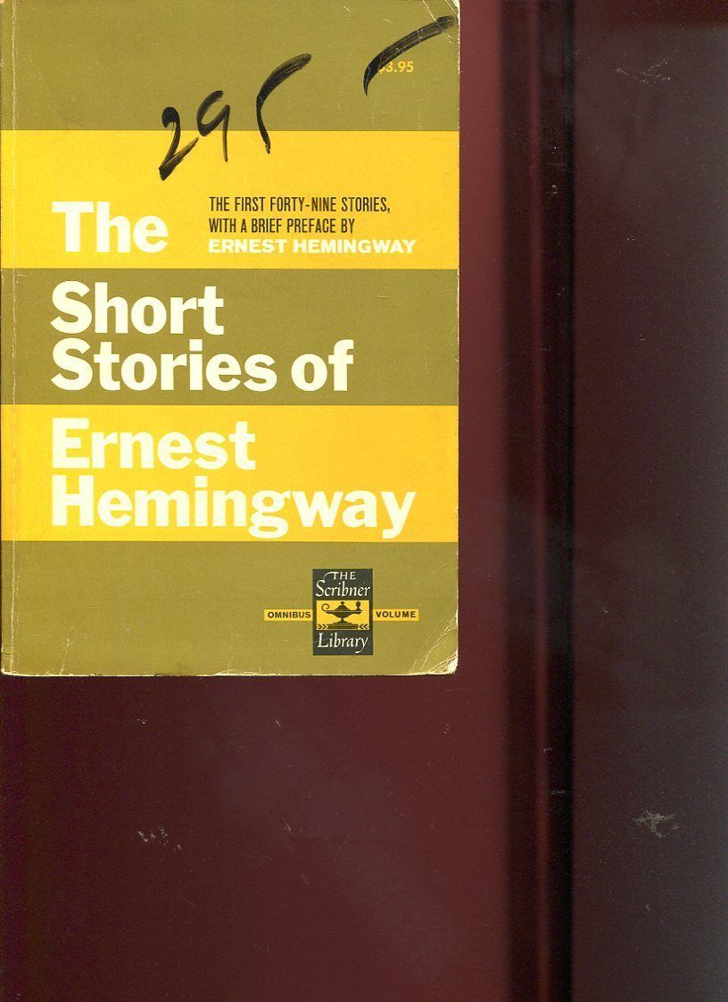 """the short stories of ernest hemingway critical essays As often in hemingway's short stories, the reader has trouble deriving a satisfying meaning from the diegesis itself the stakes are not in the story proper but in the way it is told in """"the light of the world"""" the point is all the more important as the narrator is a character."""