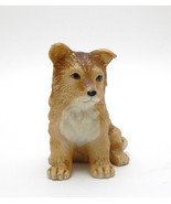 Collie Sheltie Dog Pup Figurine Homco 8828 very good cond. Vintage  - $10.99