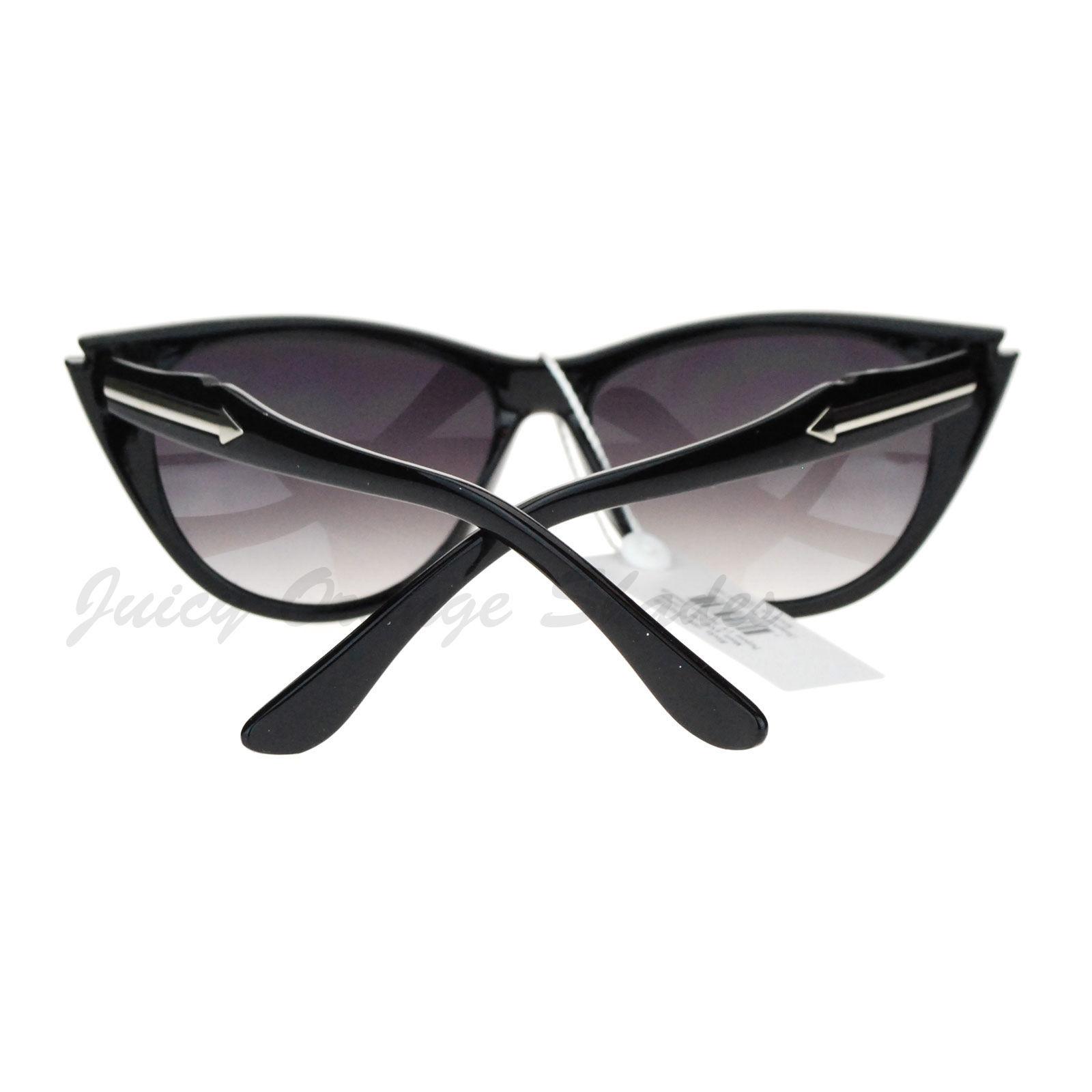 Arrow Design Womens Vintage Retro Fashion Cateye Sunglasses