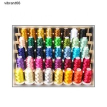 40 Color Machine Thread Stitch Quilt Embroidery... - $60.86