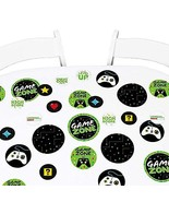 Big Dot of Happiness Game Zone - Pixel Video Game Party or Birthday Part... - $10.15