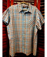 Mens Route 66 Short Sleeve Shirt Size 2X 100 % Cotton - $10.88