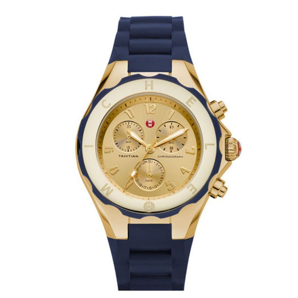michele tahitian jelly bean large mww12f000040 navy