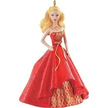 Holiday Barbie Caucasian 2014 Ornament , New in Box  - $18.00