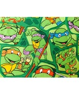 "42""wide 15""long Window Curtain Valance Teenage Mutant Ninja Turtles Gree... - $8.70"