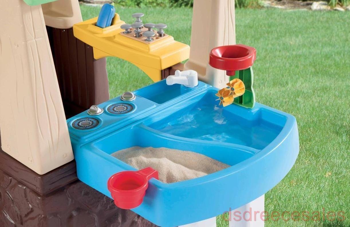 Garden Playhouse Little Tikes Deluxe Home For Kids Outdoor Innovative Design Fun Permanent